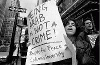 Being Arab is not a crime!