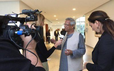 A Muhammad Yunus il Premio Nuovo Rinascimento