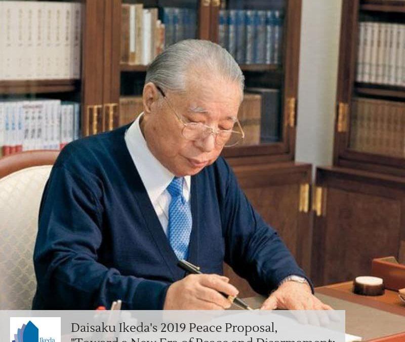 Sinossi della proposta di Pace 2019 del presidente della SGI Daisaku Ikeda