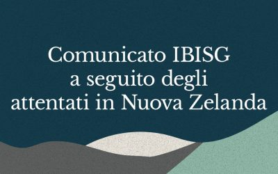 Comunicato IBISG a seguito degli attentati in Nuova Zelanda