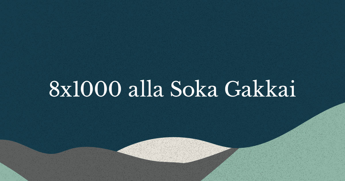 8x1000 Soka Gakkai