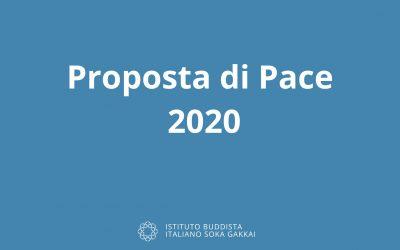 Proposta di Pace 2020. Il testo completo in inglese